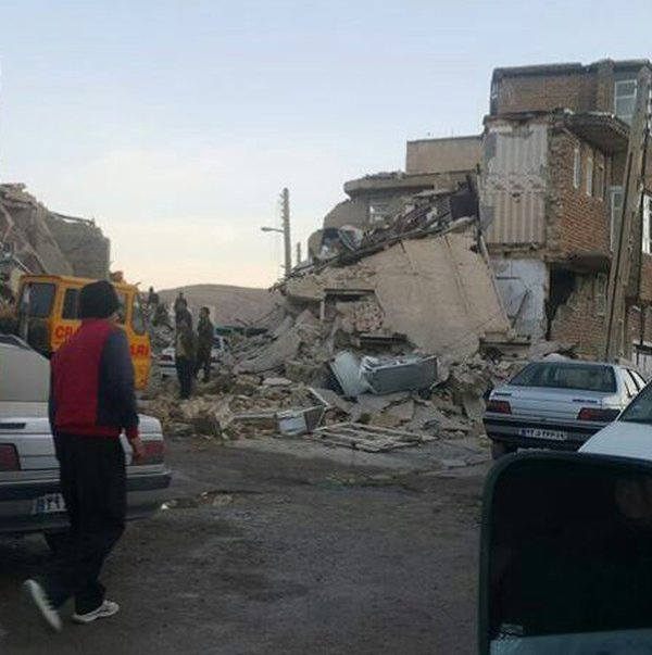 Irak'ta deprem sonrası ilk sabah