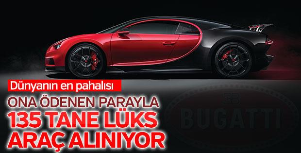Dünyanın en pahalı otomobili Bugatti'nin yeni modeli tanıtıldı