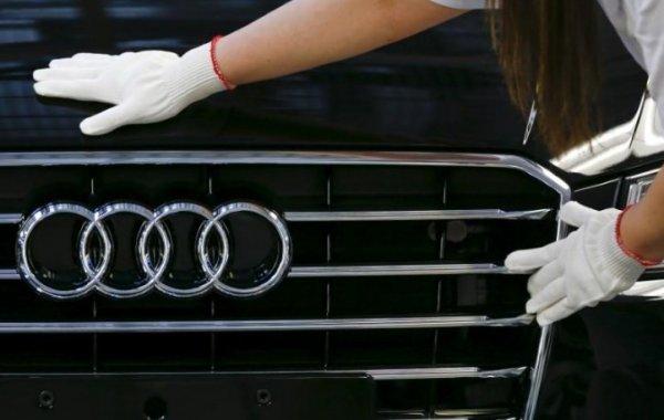 Almanya'da Audi tesislerinde arama