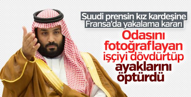 Fransa'da Suudi prensin kız kardeşi için yakalama kararı