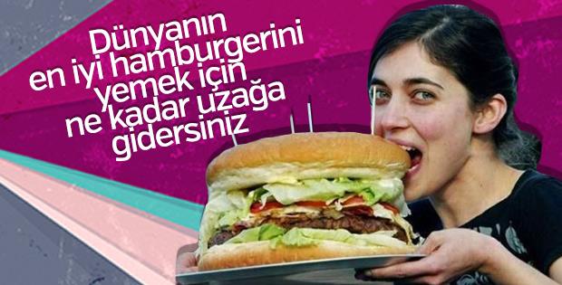 Dünyanın en iyi hamburger rotaları