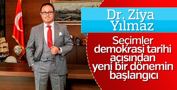 DAP Yapı Yönetim Kurulu Başkanı Yılmaz'dan açıklama