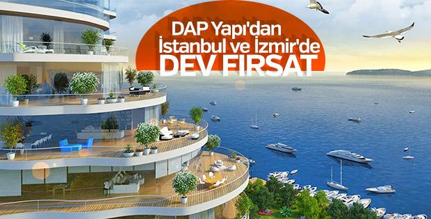 DAP Yapı'dan iki projeye dev kampanya