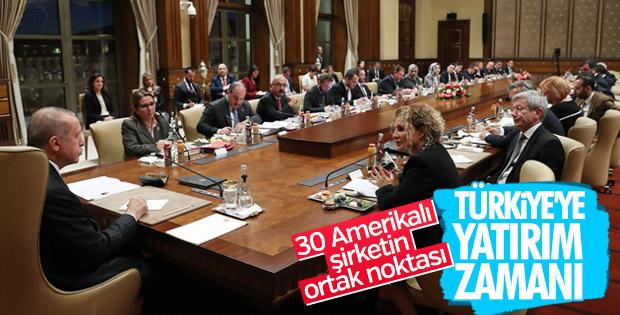 30 Amerikalı şirket Türkiye yatırımlarına devam edecek