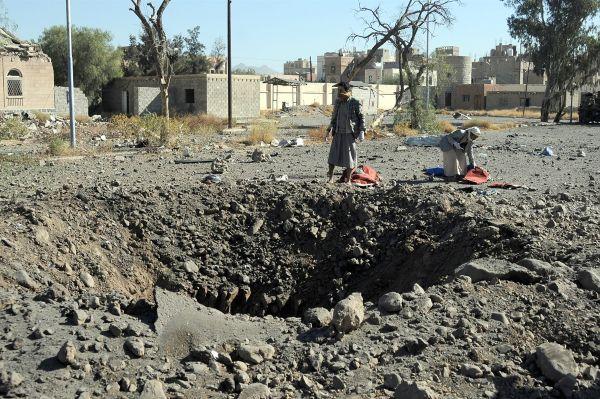 Suudiler Yemen'de polis kampını vurdu