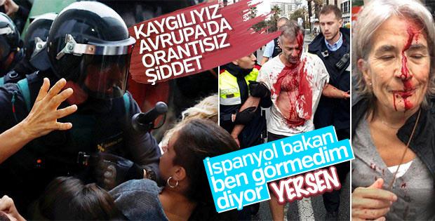İspanya hükümeti polisleri savundu