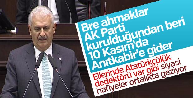 Başbakan Yıldırım, AK Parti Grup Toplantısı'nda