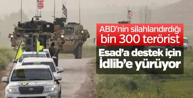 Esad rejimi ve YPG/PKK'dan İdlib ittifakı