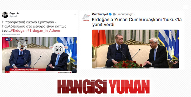 Cumhuriyet Gazetesi Yunanistan'ın yanında