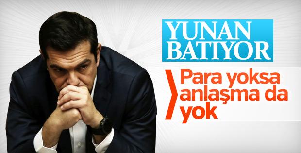 Yunanistan'da ekonominin durumu kritik
