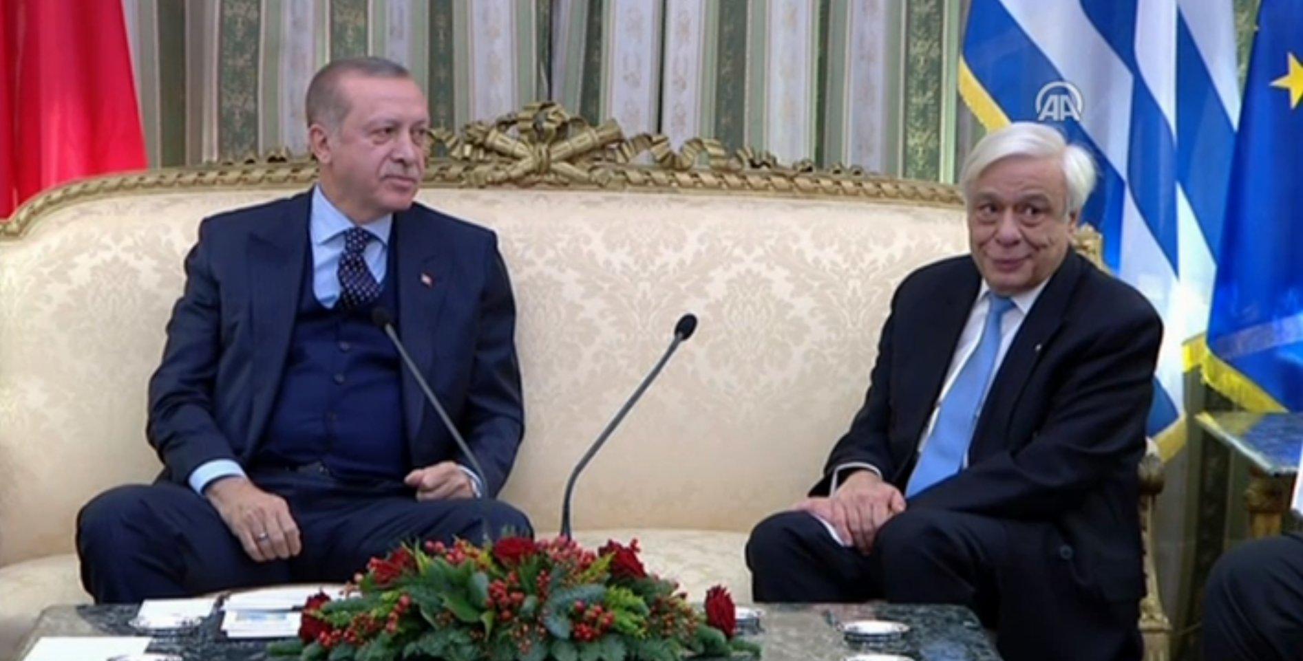 Atina'da Erdoğan ile Pavlopulos arasında Lozan diyaloğu