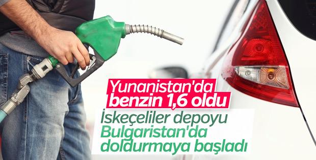 Yunanlar benzini Bulgaristan'dan alıyor