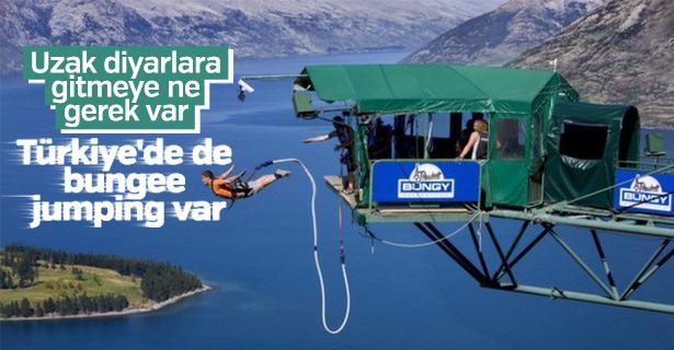 Türkiye'de bungee jumping nerede var