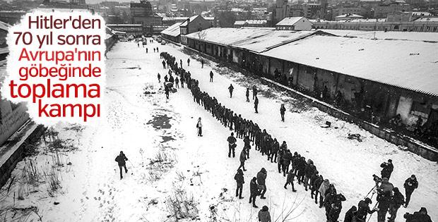 1500 mülteci Belgrad'da ölüme terk edildi