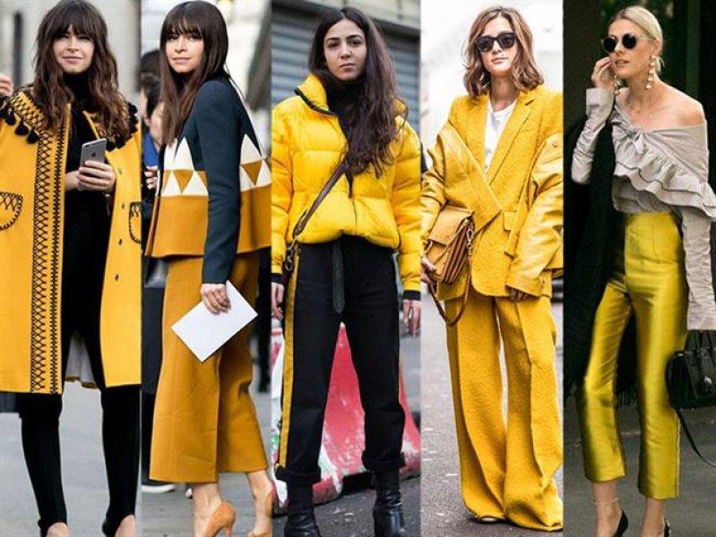 2018in En Popüler Rengi Sarı