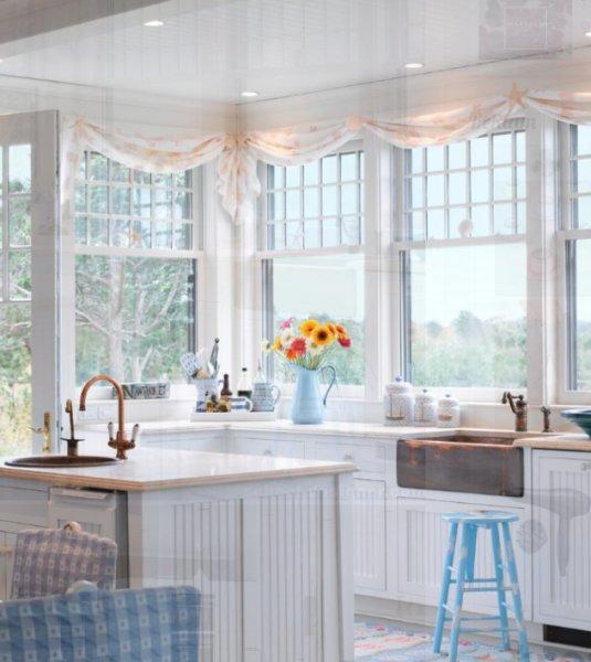 Mutfak dekorasyonunda beyaz trendi