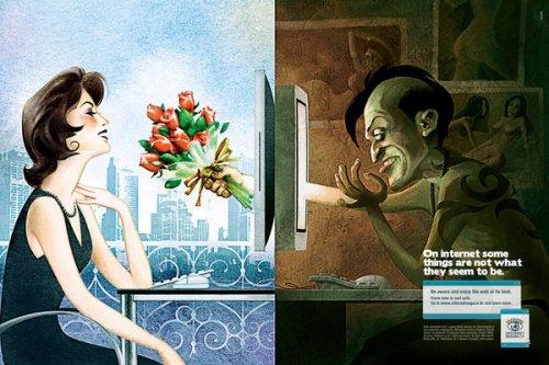 знакомств в интернете опасности