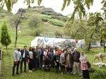 Zİyaretçiler Tekkeköy Mağaraları'na hayran kaldılar