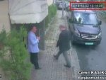 Last footages of Jamal Khashoggi