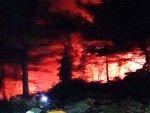 Muğla'da düğünden atılan havai fişek ormanı yaktı