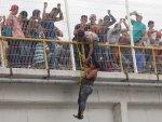 2 bin göçmen Meksika'ya kaçak giriş yaptı