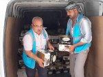 Suriye'ye tonlarca yardım gitti