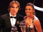 Yılın futbolcusu Modric oldu