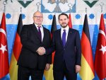 Minister Albayrak meets with his German counterpart