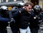 French police torture protesters