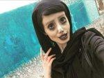 Angelina Jolie'ye benzemeye çalışan İranlı