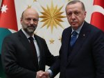 Turkey's president receives Jordanian PM, FM in Ankara