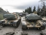 Turkey's military reinforces on border with Syria's Idlib