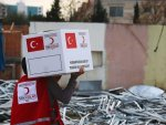 Turkish Red Crescent distributes food in Yemen