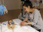7 aylık bebeği anne fedakarlığı kurtardı