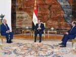 Egypt's Sisi meets Libyan commander Haftar in Cairo