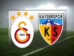 Galatasaray-Kayserispor - CANLI SKOR