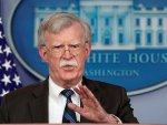 US adviser Bolton insists threat from Iran is not over