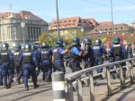 Terror supporters clash with police in Switzerland