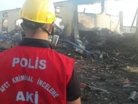 Four suspect arrested after Turkish factory blast