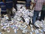 Tır dorsesinde 18 bin paket kaçak sigara yakalandı