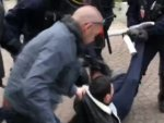 Protesters had beaten up in Germany and France