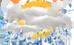 Sağanak yağış 9 C