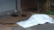 Sokakta yaşayan adam hayatını kaybetti