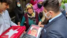 Polis memuru Hasan Keleş'e son görev