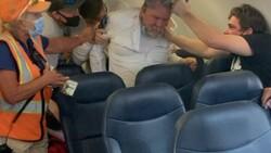 ABD'de uçakta maske kavgası
