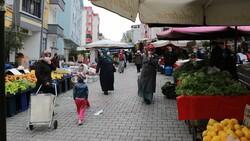 Samsun'da pazar esnafından, maskesini düzgün takmayanlara ürün satmama kararı