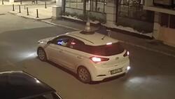 Antalya'da çaldığı dubayı aracının üstüne koydu