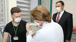 Yerli korona aşısı denemelerine katılan gönüllülerde yan etki görülmedi