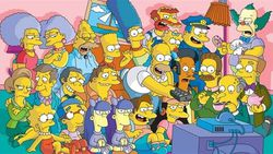 Searching for people to decode secret messages in the Simpsons series