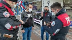 Bursa'da ekmek almaya çıktığını iddia edenlere, kısıtlama cezası verildi